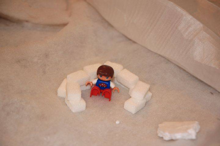 Un igloo en sucre