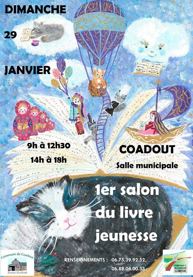 Salon livre jeunesse coadout r cr atiloups c tes d 39 armor for Salon jeunesse